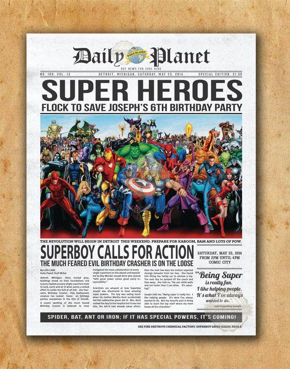 Calling All Superheroes Birthday Invitation was luxury invitation template