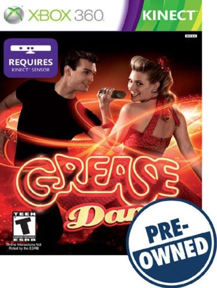 Grease: Dance — PRE-Owned - Xbox 360, PRE OWNED