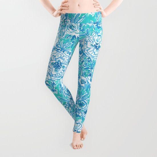 Water dance by Barbarian//Barbra Ignatiev, $39. https://society6.com/product/water-dance-484_leggings?curator=bestreeartdesigns