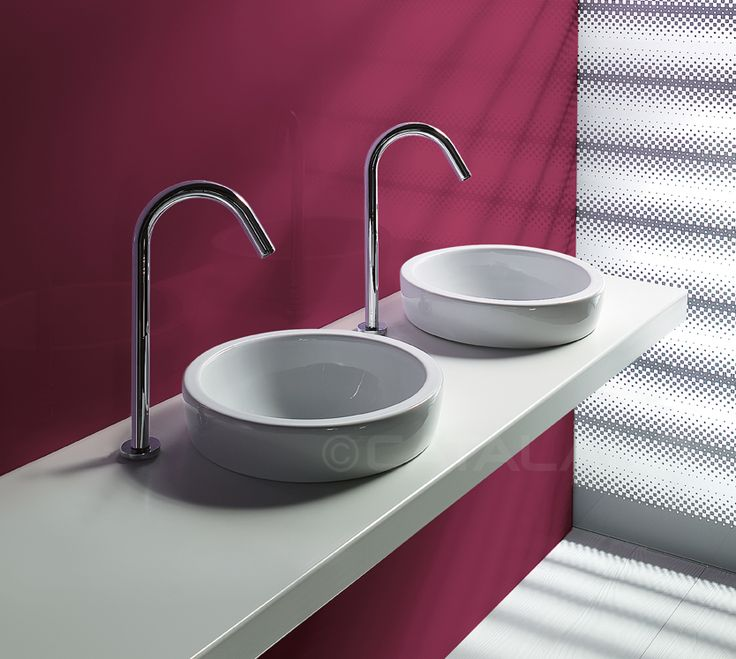 Sfera 45 - Washbasin for sit on, semi inset or under counter installation. No overflow. 0 taphole.