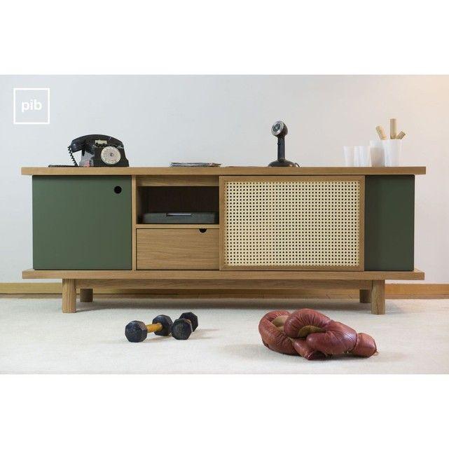 les 25 meilleures id es de la cat gorie meuble tv avec rangement sur pinterest meubles tv avec. Black Bedroom Furniture Sets. Home Design Ideas