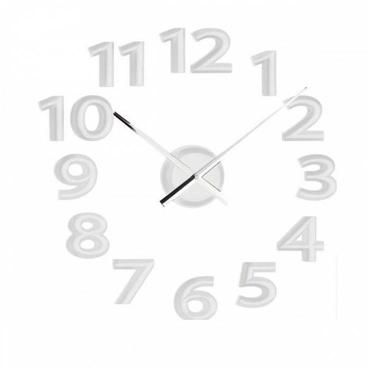 balvi orologio bianco adesivo