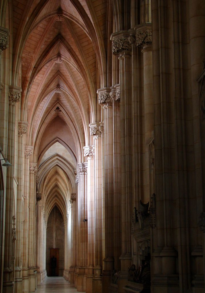 Empty aisle, Downside Abbey, Somerset   Explore archidave's …   Flickr - Photo Sharing!