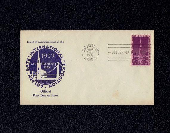 US 852 Golden Gate International Exposition Feb 18 1939 San Francisco Calif First Day Cover  Scott's
