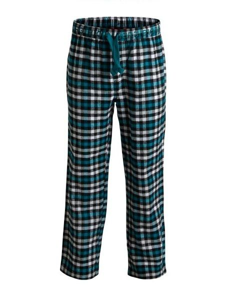 Bjorn Borg pyjama broek voor jongens Refuge Check, aqua