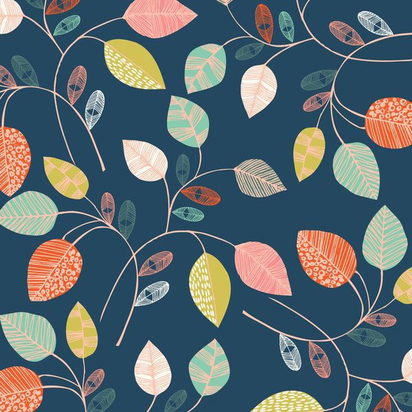 leaves Art Print by Bethan Janine | Society6  #pattern #texture