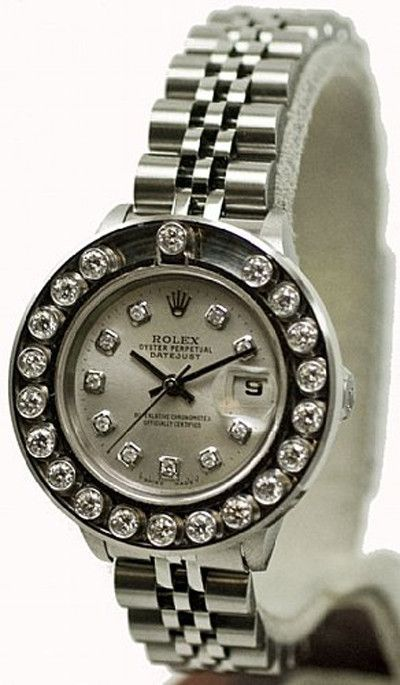 - Item Number: LDSDJSDBSLVHPYJUB - Brand: Rolex - Model Number: 69160 - Series: Datejust - Gender: Ladies - Case Material: Stainless Steel - Case Diameter: 26mm - Dial Color/Diamond Quality: Silver co