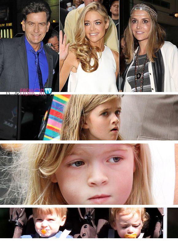 Denise Richards Awarded Custody Of Brooke Mueller's Twins