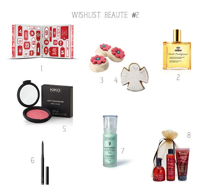 Une wishlist spécial beauté vous attend sur le blog ! J'ai sélectionné des produits Nuxe, Yves Rocher, The Body Shop, Reference, Kiko... http://bavardagesentrefilles.fr/beaute/wishlist-beaute-2