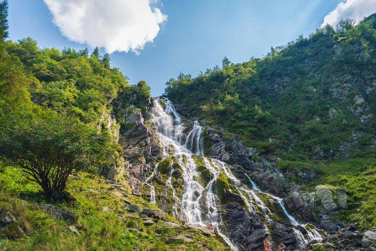 Cascada Bâlea - Munții Făgăraș Bâlea waterfall - Făgăraș Mountains - România