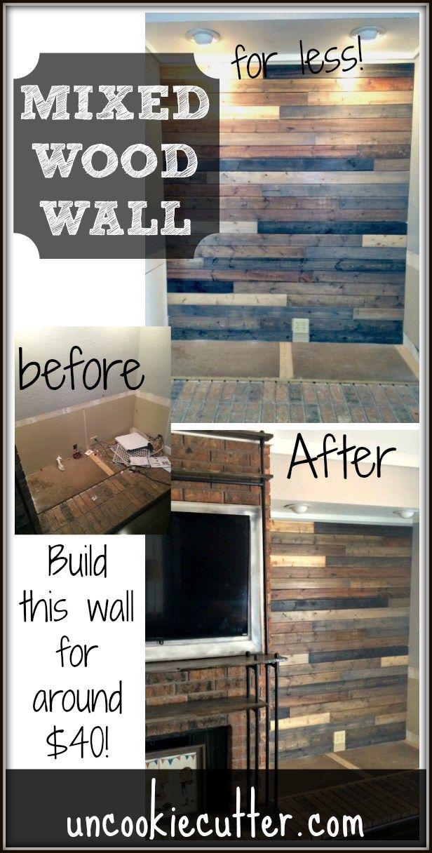 Mixed Wood Wall