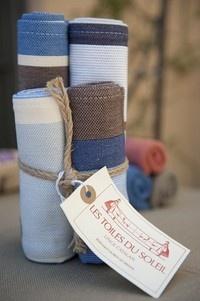 ensemble 2 sets/ 2 serviettes st cyprien