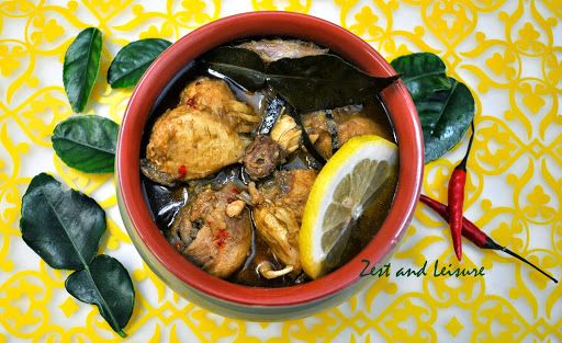 Chicken Curry flavored with Kaffir Lime Leaves Recipe on Yummly