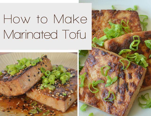 Asian Recipes Marinated Tofu and Vegetable Stir-fry Recipe  #tofu #marinatedtofu #food #recipe #foodbuzz