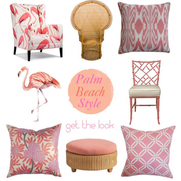 Palm Beach Style by coastalstyleblogspot, via Polyvore