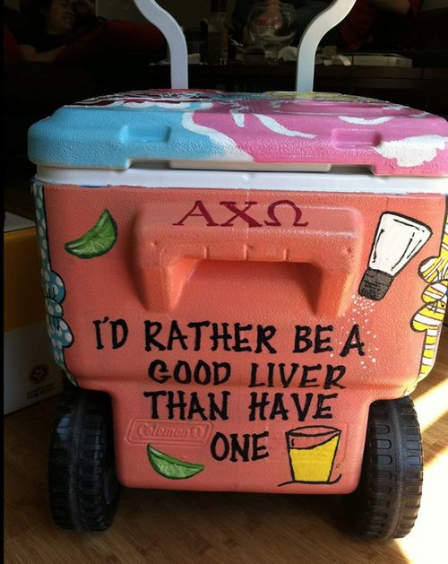 AXO cooler | sorority sugar