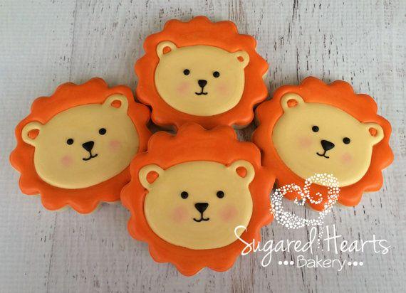 Darling lion cookies