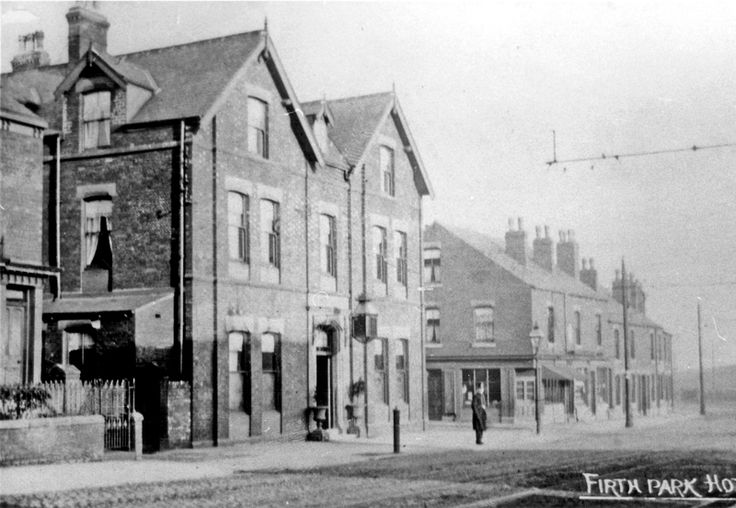 No. 127 Firth Park Hotel, Page Hall Road, junction with Hinde Street and other properties on Page Hall Road looking towards Owler Lane