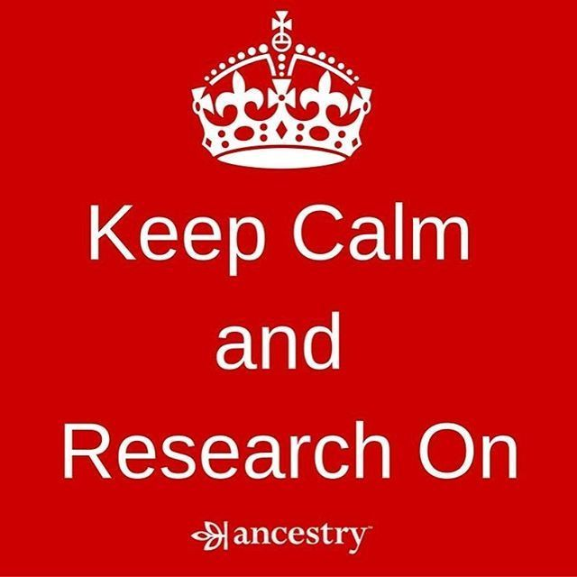 Now back to your regularly scheduled family history research...  #familyhistory #genealogy #familytree #history #ancestors #ancestry #heritage