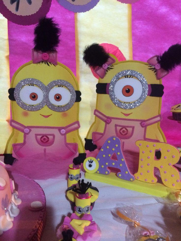 Ms de 25 ideas increbles sobre Fiestas de minions en Pinterest