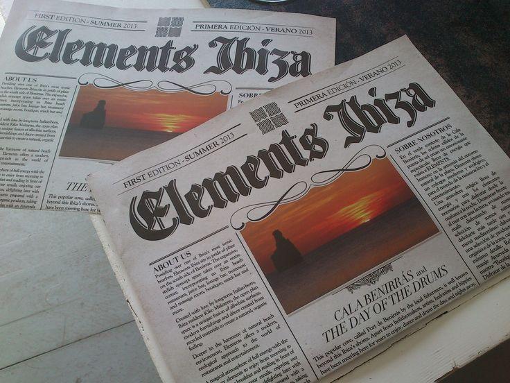 our newspaper menu