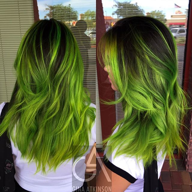 """""""I've actually used the formula and LOVED IT! It's beautifully unexpected!""""  Lea R.   Pravana neon green & neon yellow"""