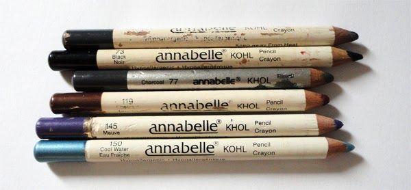 Canadian Fascination: Vintage Annabelle Kohl Eyeliners ...
