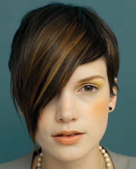 medium hair styles best 25 asymmetrical pixie cuts ideas on 1623