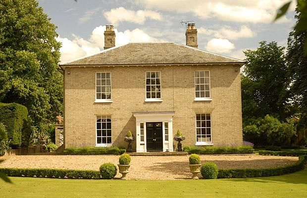 On the property market: Georgian homes - Telegraph Love the brick colour