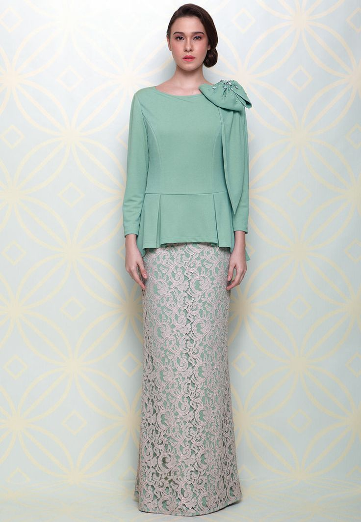 142 Best Malay Fashion Images On Pinterest Baju Kurung