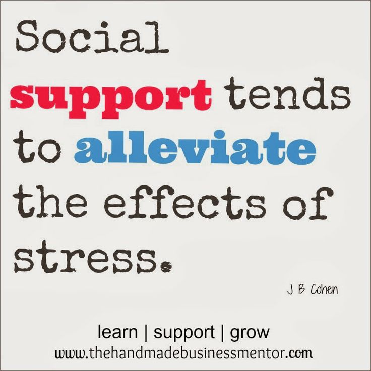 the effect of social support on Interventions attempting to apply basic research on the positive effects of social  support are also widespread although the longer-term effects of such.