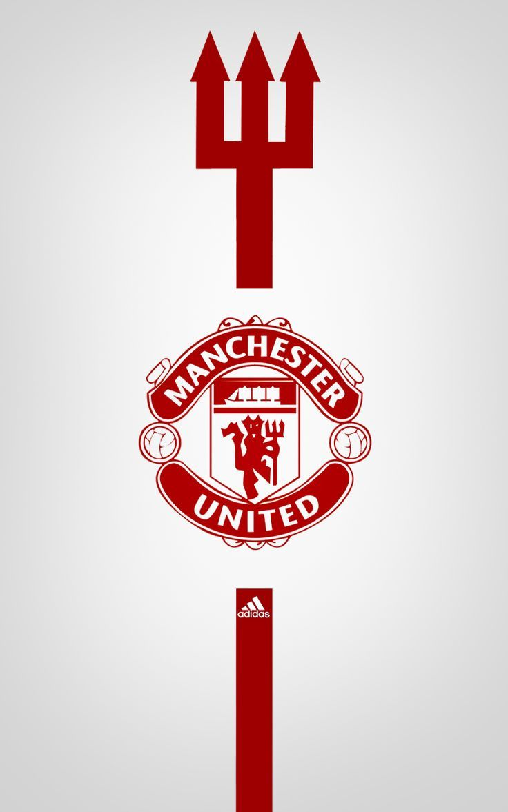 Manchester United Adidas Android Wallpaper White