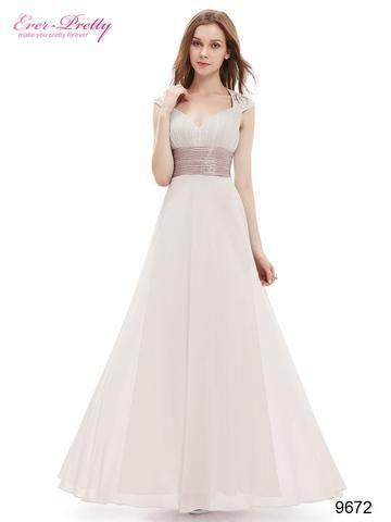 Evening Dress Red Color Ever Pretty Ep09672 Y V Neck Sequins Chiffo Nantahalas