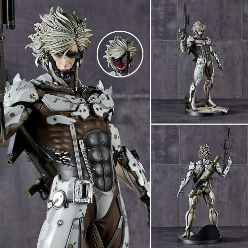 Metal Gear Statues - 1/6 Scale MGS V Ground Zeroes Raiden Jamais Vu White Armor Version
