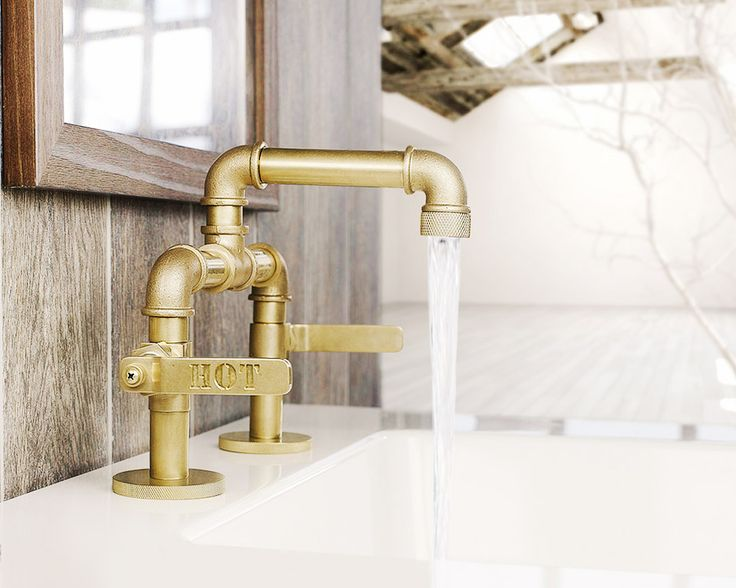 The new bathroom d cor trends to adopt now lavatory for Bathroom faucet trends