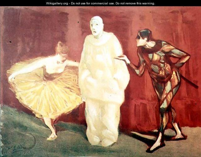 Circus Scene - Henri-Gabriel Ibels
