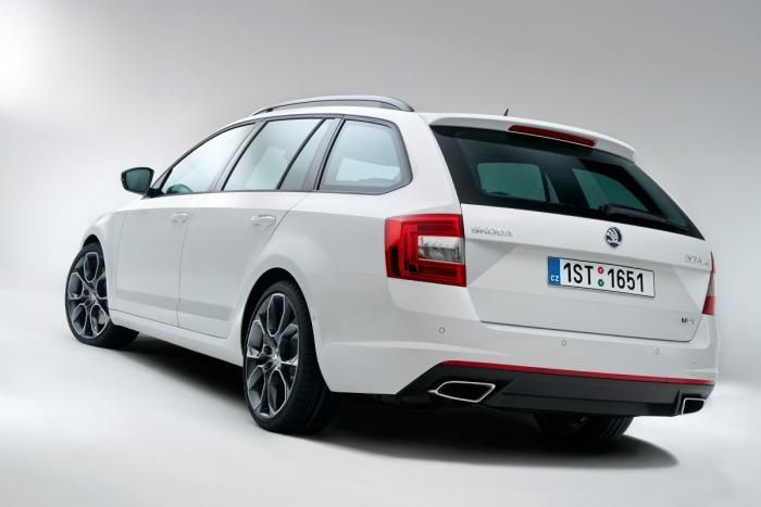 Skoda Octavia vRS Estate