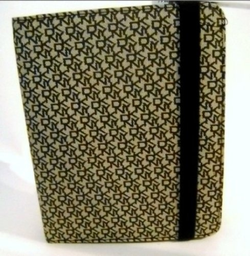 DKNY IPAD Case Brown Coated