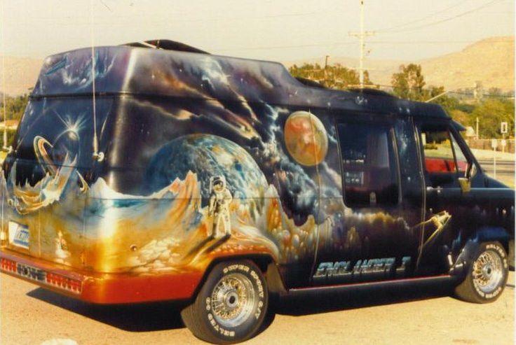 70's conversion van