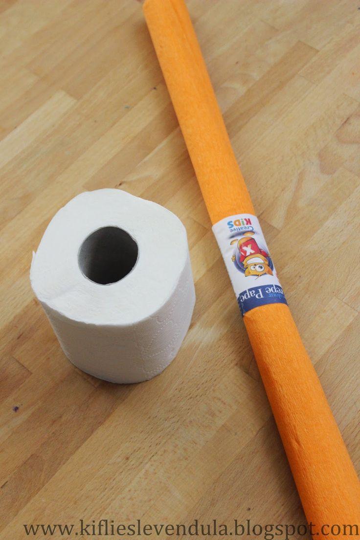 Kifli és levendula: Ötperces dísztökök papírból