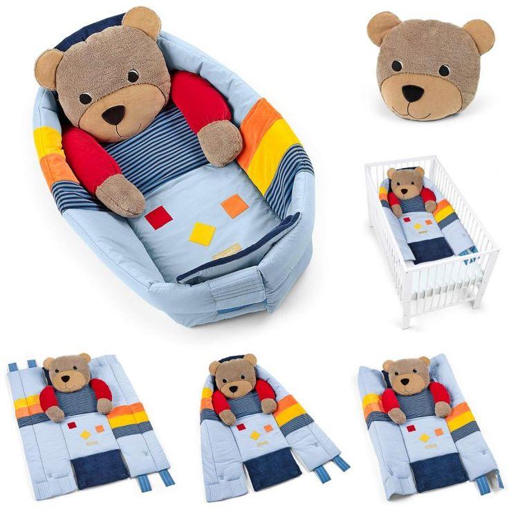 Sterntaler Kuschelnest Basti 100 x 130 cm >> Mehr Spaß und Funktion für's Baby >> verwendbar als Kuschelnest, Krabbeldecke und Bettchenverkleinerer   online kaufen bei kids-comfort.de