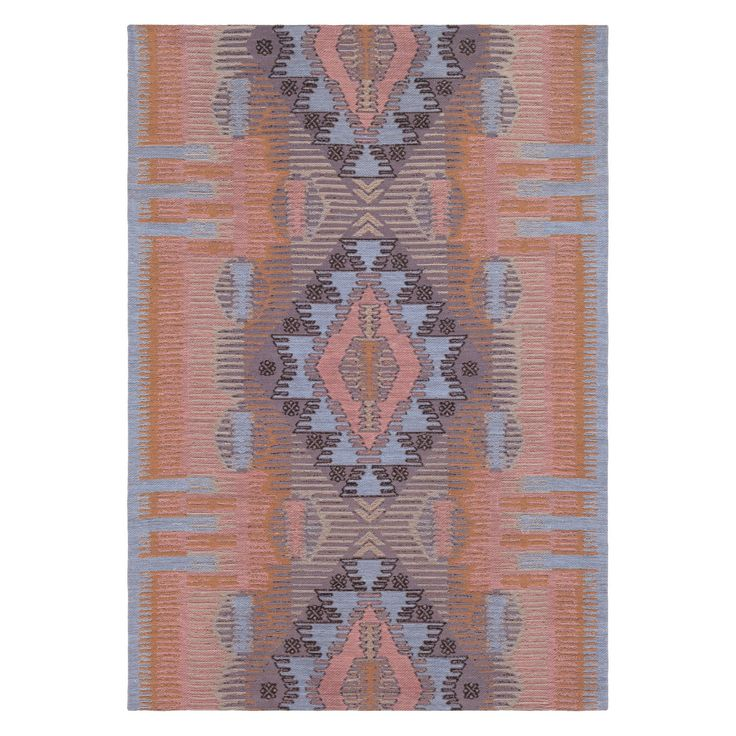 Surya Sajal Southwestern Indoor/Outdoor Rug Blush/Peach in ...