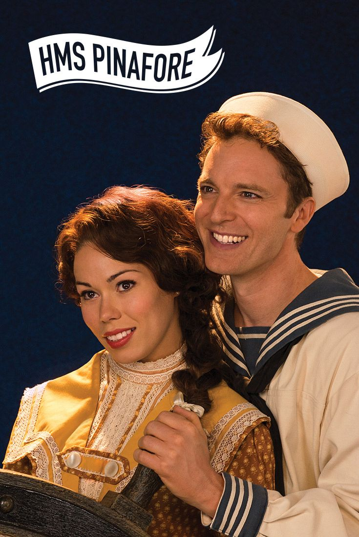 With witty dialogue, endearing characters, memorable tunes and a hilariously happy ending, these are the silliest shenanigans ever seen aboard a ship! Since its première in 1878, Gilbert and Sullivan's wildly popular operetta has delighted audiences with its nautical tale of love across class divides. #sfPinafore