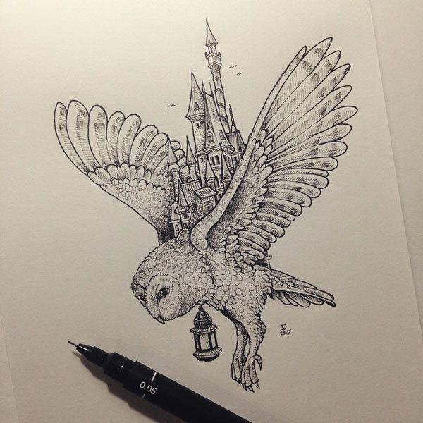 Kerby Rosanes est un jeune illustrateur philippin né en 1990. Ce qu'il adore plus que tout, l'illustration à la main et le tout en noir et blanc. Vous allez voir son style de dessin ne va pas du tout vous laisser indifférent. Son compte Instagram…