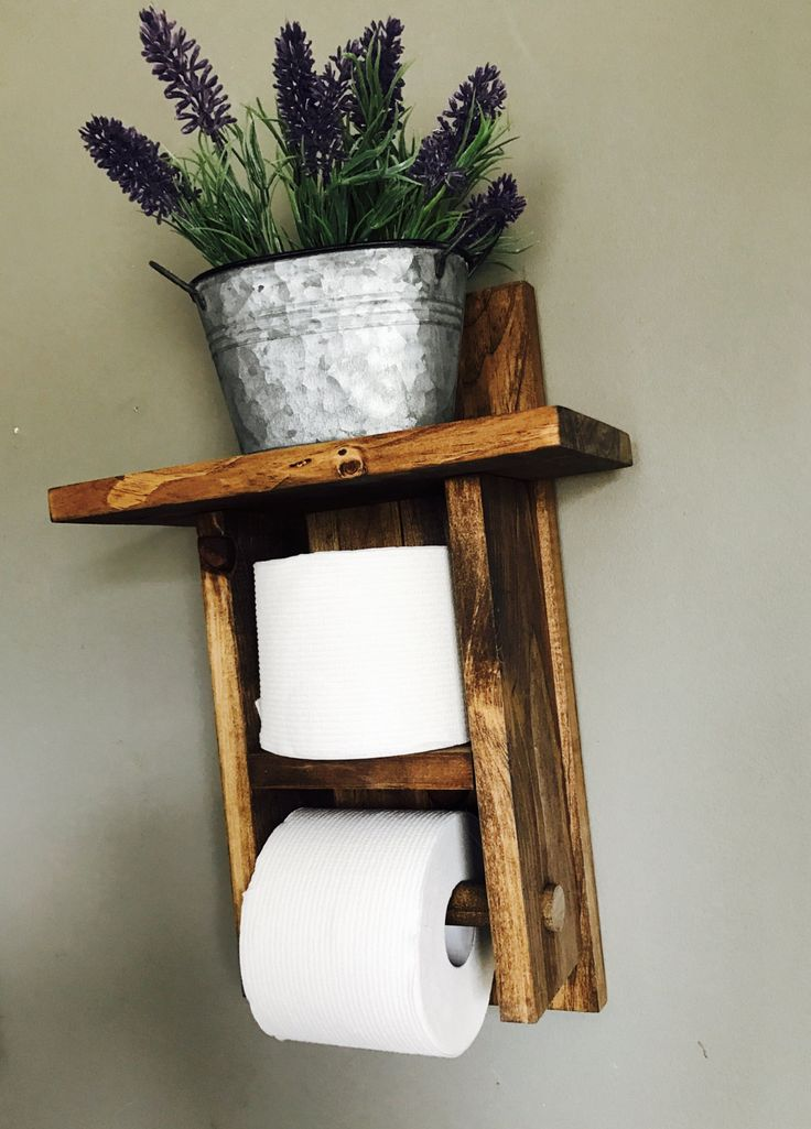 Best 25+ Wood toilet paper holder ideas on Pinterest ...