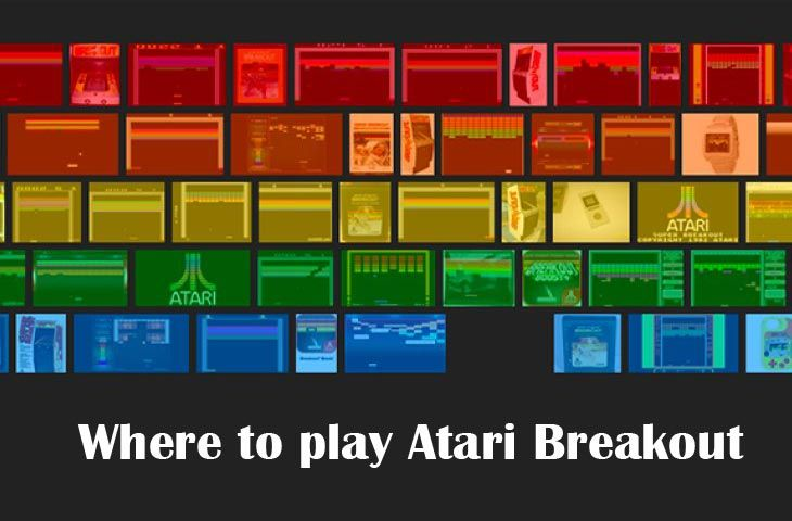 If you have spare time in your lunch break, then play Super Atari Breakout on the official Atari website for free rather than the Google Images version. It is much better in my opinion.