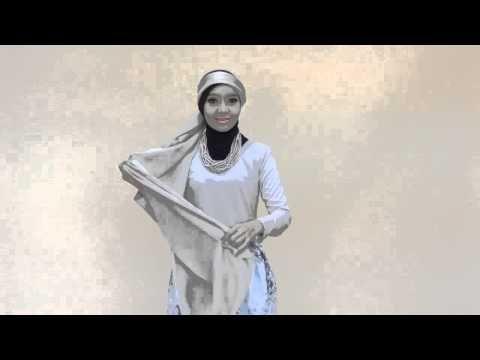 Hijab satin feminim