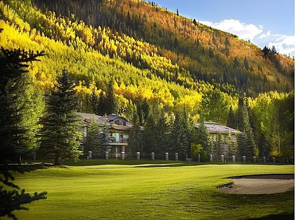 Autumn living in Vail, CO! #Vail #fall #architecture