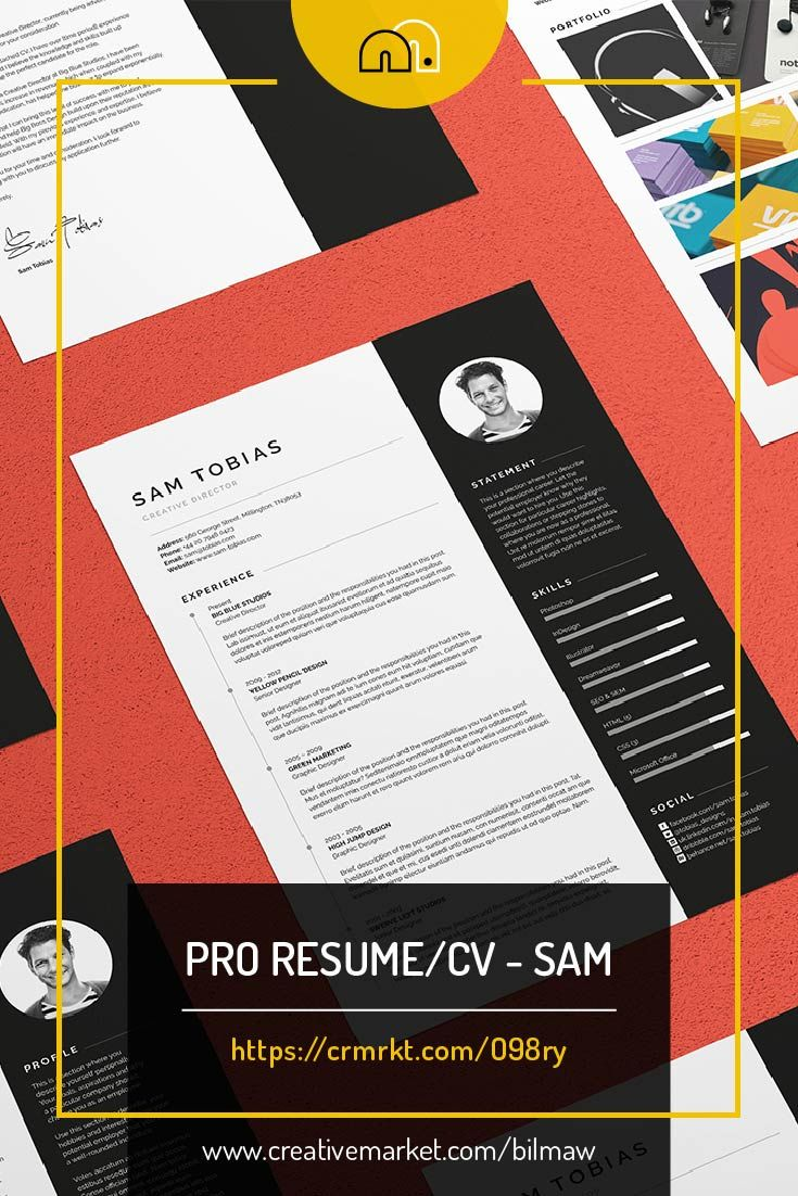 cv and covering letter%0A For those looking for a professional presentation   u    Sam u     offers extra space  for those