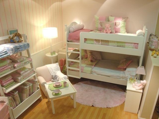 17 mejores im genes sobre dormitorios juveniles para dos - Literas en angulo ...